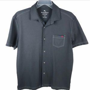 Tommy Bahama Supima Cotton Shirt Button Mens Large